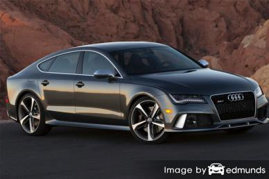 Insurance quote for Audi RS7 in Irvine
