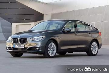 Insurance rates BMW 535i in Irvine
