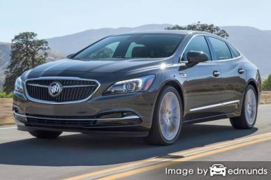 Insurance rates Buick LaCrosse in Irvine