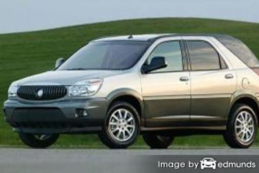Insurance rates Buick Rendezvous in Irvine
