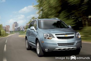 Insurance quote for Chevy Captiva Sport in Irvine
