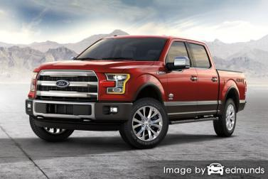 Insurance rates Ford F-150 in Irvine