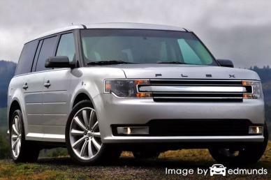 Insurance rates Ford Flex in Irvine