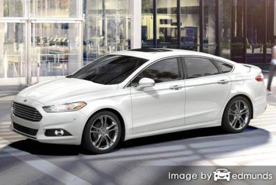 Insurance quote for Ford Fusion in Irvine