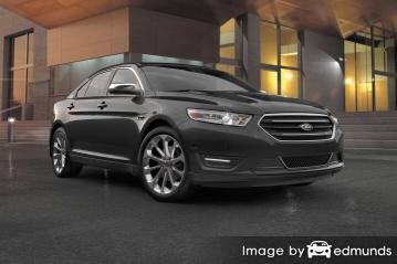 Discount Ford Taurus insurance