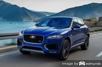 Insurance quote for Jaguar F-PACE in Irvine