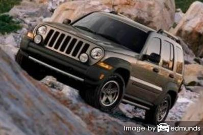 Insurance quote for Jeep Liberty in Irvine