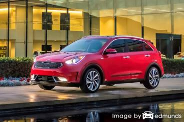 Insurance quote for Kia Niro in Irvine