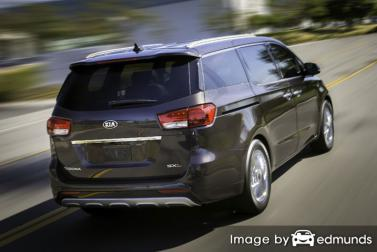 Discount Kia Sedona insurance