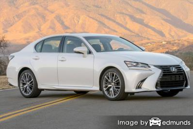 Discount Lexus GS 350 insurance