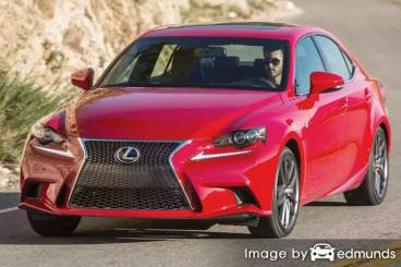 Insurance quote for Lexus IS 200t in Irvine