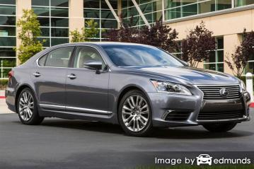 Insurance rates Lexus LS 460 in Irvine