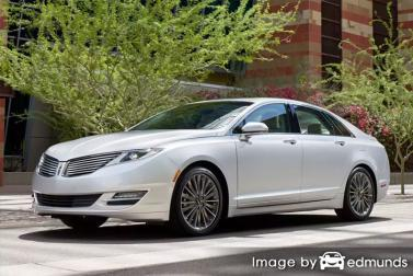Insurance quote for Lincoln MKZ in Irvine