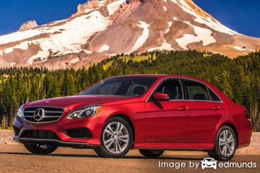 Insurance quote for Mercedes-Benz E350 in Irvine