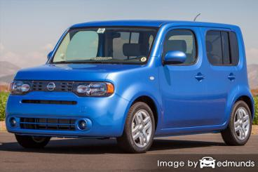 Discount Nissan cube insurance