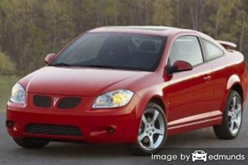 Insurance quote for Pontiac G5 in Irvine