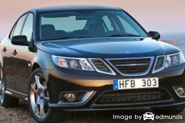 Insurance quote for Saab 9-3 in Irvine