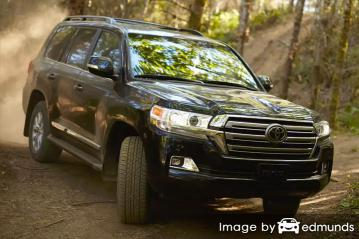 Insurance quote for Toyota Land Cruiser in Irvine