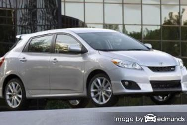 Insurance quote for Toyota Matrix in Irvine