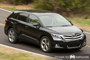 Insurance quote for Toyota Venza in Irvine