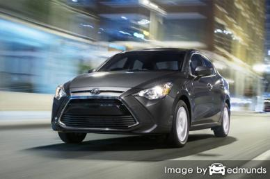 Insurance rates Toyota Yaris iA in Irvine